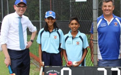 Local cricket the winner with T20 World Cup 2020 Legacy Fund